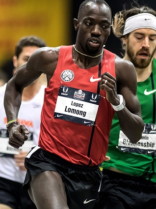 U.S. Olympian Lopez Lomong is one of The Lost Boys of Sudan.