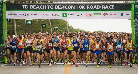 Molly Huddle and Ben True headline deep, talented field of world-class runners for TD Beach to Beacon 10K on Aug. 4 in Cape Elizabeth, Maine.