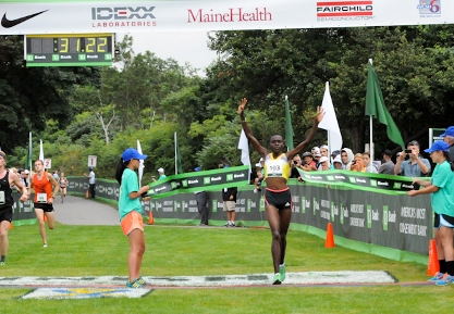 Joyce Chepkirui is returning to defend her title at the 2013 TD Beach to Beacon 10K Road Race on Aug. 2.