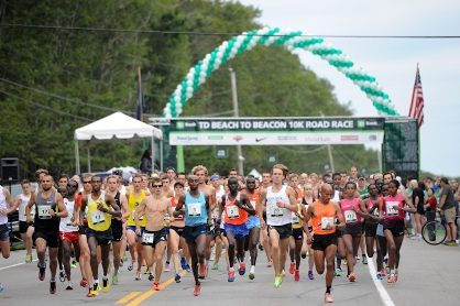 Coveted TD Beach to Beacon 10K bibs available to runners from race beneficiary Rippleffect in exchange for fundraising.