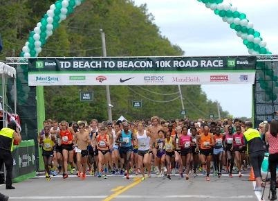 Professional field announced for 2014 TD Beach to Beacon 10K Road Race on Aug. 2.