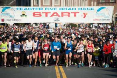 Registration continues for Thanksgiving Day Feaster Five Road Race at www.feasterfive.com.