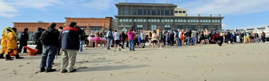 Fundraising underway for A.J.'s New Jersey Polar Dip to benefit Camp Sunshine, set for Feb. 8 in Long Branch