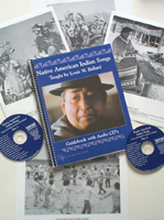 Native American Indian Songs Guidebook and CDs Published for