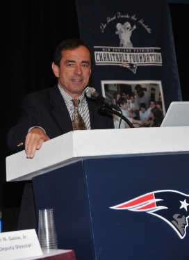 Dave McGillivray, president of DMSE Sports, Inc., is the 2010 recipient of the Ron Burton Community Service Award.