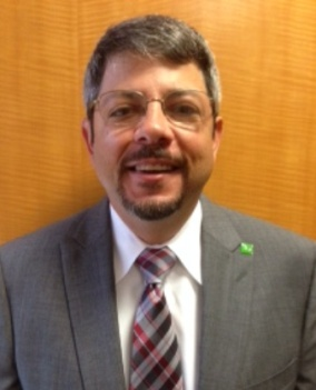 Carlos Perez, TD Bank's new Team Credit Manager in Florida.