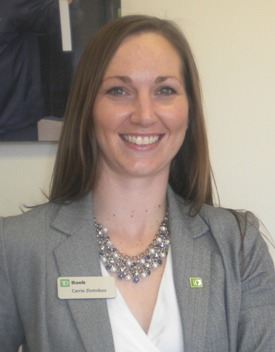 Td Bank Names Carrie Zlotnikov Store Manager In Seymour Conn