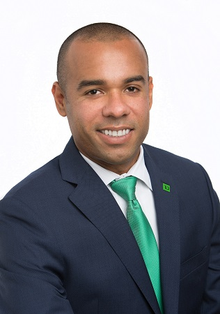 Christopher Clark, TD Bank's new Senior Relationship Manager in Commercial Banking for Northeast Florida.