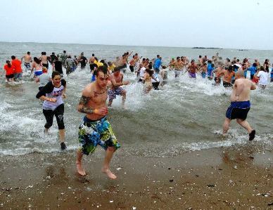 Colin's Crew Polar Dip to benefit Camp Sunshine on Feb. 21 in West Haven.