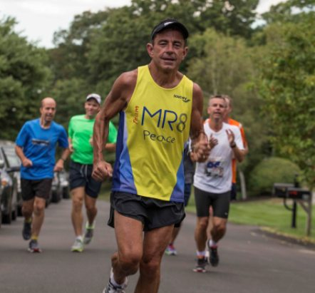 Dave McGillivray marked his 60th birthday on Saturday with a 60-mile run, accompanied by running legends, continuing an annual tradition he started at age 12.