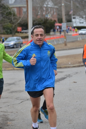 Dave McGillivray, race director of the B.A.A. Boston Marathon, will run his 42nd Boston Marathon on April 21.