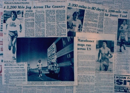 40th anniversary of Dave McGillivray's historic run across the U.S., ending inside Fenway Park, to be celebrated Aug. 23.