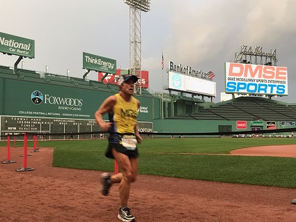 Field expands for second Fenway Park Marathon, run entirely inside storied ballpark on Aug. 24 in Boston.