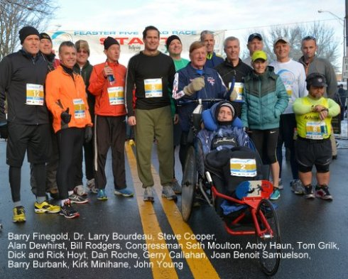 Feaster Five VIPs at 2014 race.