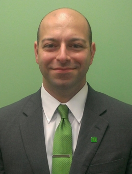 Harut Berberyan, the new Store Manager at TD Bank in Washington Township, NJ.