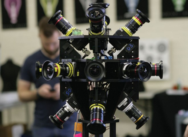 Radiant Images showcasing new virtual reality cinema technology and POV rigs at J.L. Fisher