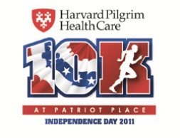 The Harvard Pilgrim 10K at Patriot Place will take place on July 4 in Foxborough, Mass., finishing at the 50-yard line in Gillette Stadium.