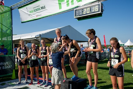 Registration now underway for the B2B High School Mile on Aug. 4, pitting top young runners in Maine.