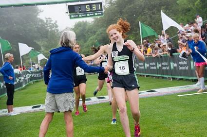 B2B High School Mile pits Maine's best young runners in growing event.