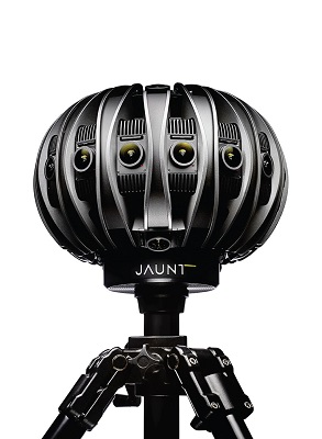 Radiant Images first rental house with award-winning Jaunt ONE VR camera available for clients.