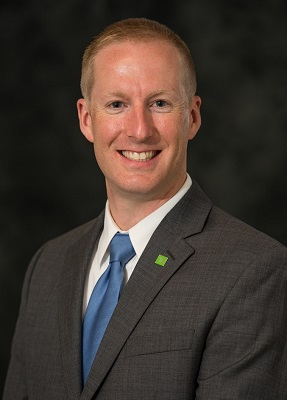 Jeff Pangburn, a Vice President, Relationship Manager at TD Bank in Bangor.