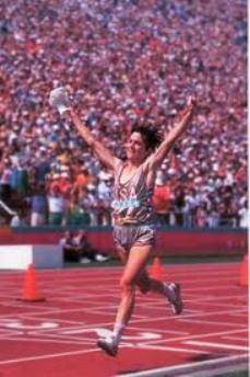 TD Beach to Beacon founder Joan Benoit Samuelson won the 1984 Olympic marathon.