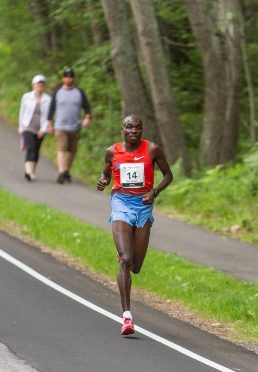 Stephen Kosgei-Kibet at 2014 TD Beach to Beacon 10K Road Race in Cape Elizabeth.