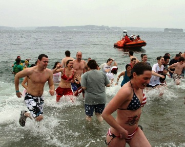 Portland Polar Dip to benefit Camp Sunshine on Feb. 21 at East End Beach.