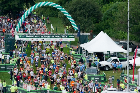 The 2015 TD Beach to Beacon 10K is set for Aug. 1 in Cape Elizabeth, Maine.