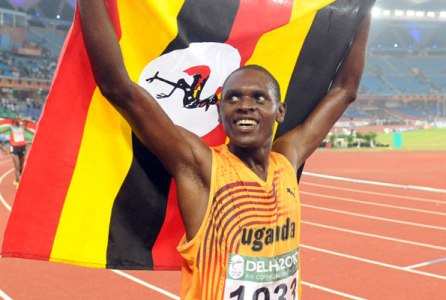 Moses Kipsiro of Uganda.