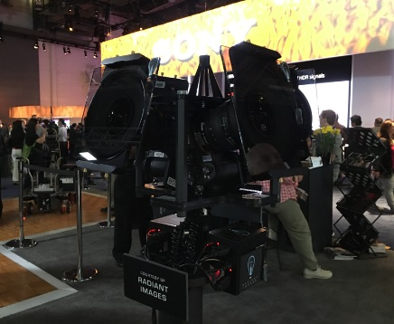 VRLIVE and Radiant Images create one-of-a-kind cinema-quality 360-degree VR live stream at NAB Show.