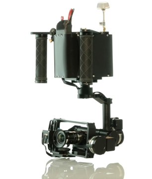 Radiant Images will showcase a variety of custom camera gimbals, including the Novo Stabilized, at JL Fisher on Saturday in Burbank.