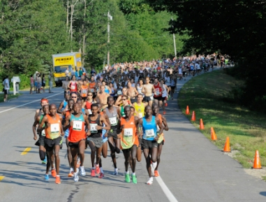 TD Beach to Beacon 10K attracts world-class athletes from around the globe to Cape Elizabeth, Maine.