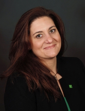 Lisa B. Quaglia, new Store Manager at TD Bank in Fort Pierce, Fla.
