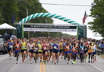 Mary Keitany, Stephen Kosgei Kibet win 20th running of TD Beach to Beacon 10K in Cape Elizabeth, Maine.