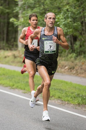 American Dathan Ritzenhein placed a strong second at the TD Beach to Beacon 10K in Cape Elizabeth.