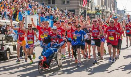 Dave McGillivray will be only the third person to push Rick Hoyt of famed Team Hoyt in a competitive event on July 3 at the Harvard Pilgrim Finish at the 50 10K.