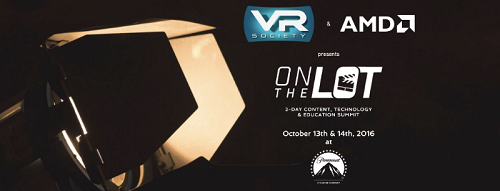 Radiant Images bringing VR expertise and innovations to VR on the Lot event OCt. 13-14 at Paramount.