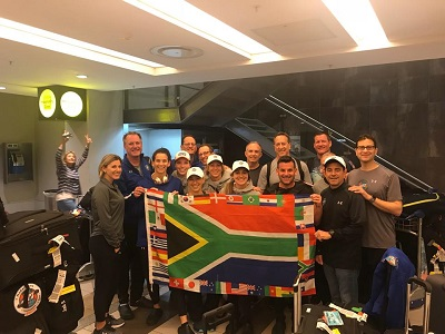 Dave McGillivray is competing in the World Marathon Challenge as part of Hold the Plane team in support of the Martin Richard Foundation.