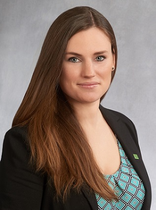 Kerrin M. Yannotta, new Business Development Officer in SBA Lending at TD Bank in New Jersey.